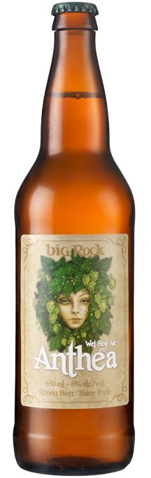 Other big rocks I like: Foul Mouth, Rhinestone Cowboy, Grasshopper, Wa-iti, Dunkelweizen, SAAZ http://bigrockbeer.com/beer/anthea-wet-hop-ale