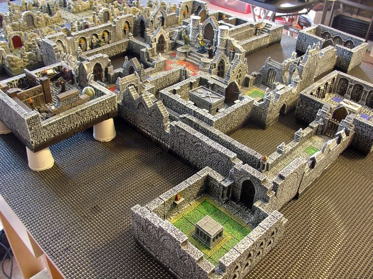 ljshobbyspot some dungeon pics miniatures minis terrain resource tool how to tutorial instructions | Create your own roleplaying game material w/ RPG Bard: www.rpgbard.com | Writing inspiration for Dungeons and Dragons DND D&D Pathfinder PFRPG Warhammer 40k Star Wars Shadowrun Call of Cthulhu Lord of the Rings LoTR + d20 fantasy science fiction scifi horror design | Not Trusty Sword art: click artwork for source