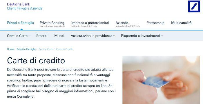 carta-di-credito-deutsche-bank