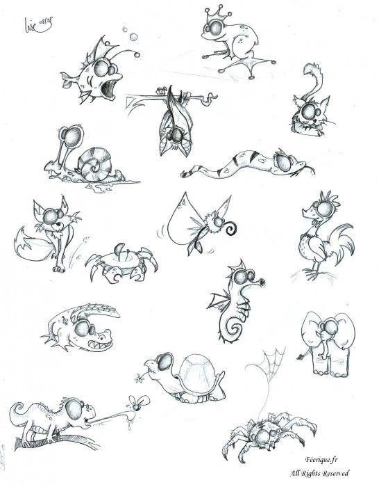 Les 25 meilleures id es de la cat gorie dessins de zombies sur pinterest art zombie fille - Dessin anime qui fait peur ...