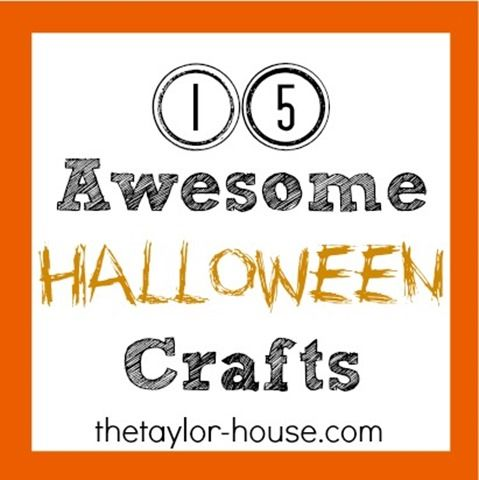 15 Awesome Halloween Crafts #halloween #haloweencr…