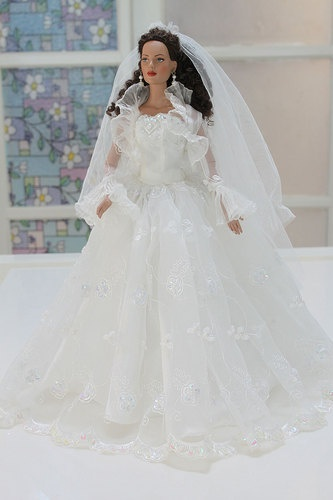 Bride Wedding Suit Outfit for Tyler Sydney Tonner Doll V999 | eBay