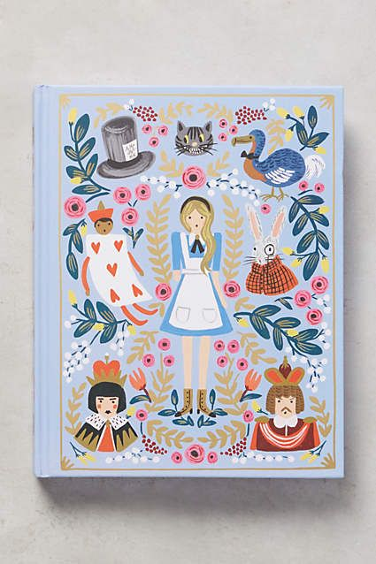 Alice's Adventures In Wonderland - anthropologie.com (beautiful books at Anthropologie).