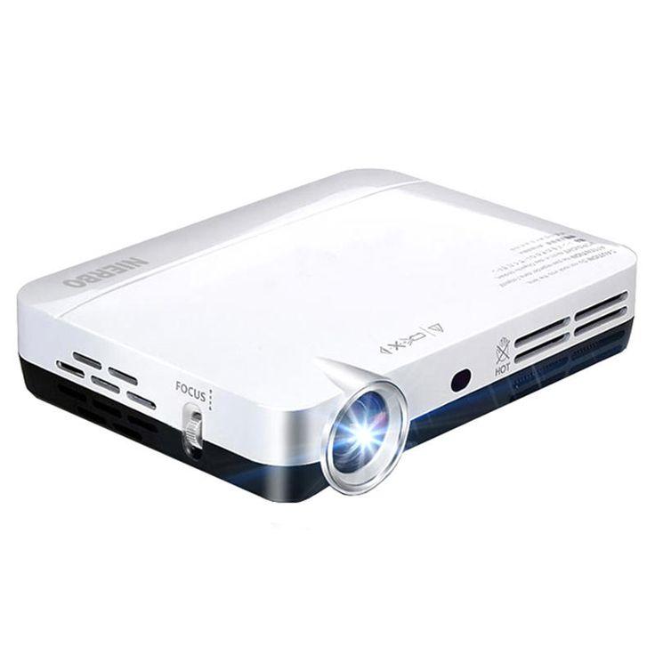 NIERBOMiniProjektorPortable2000Lumen LED Full HD Android 1080p Heimkino HDMI 3d Projektor Verkauf - Banggood.com