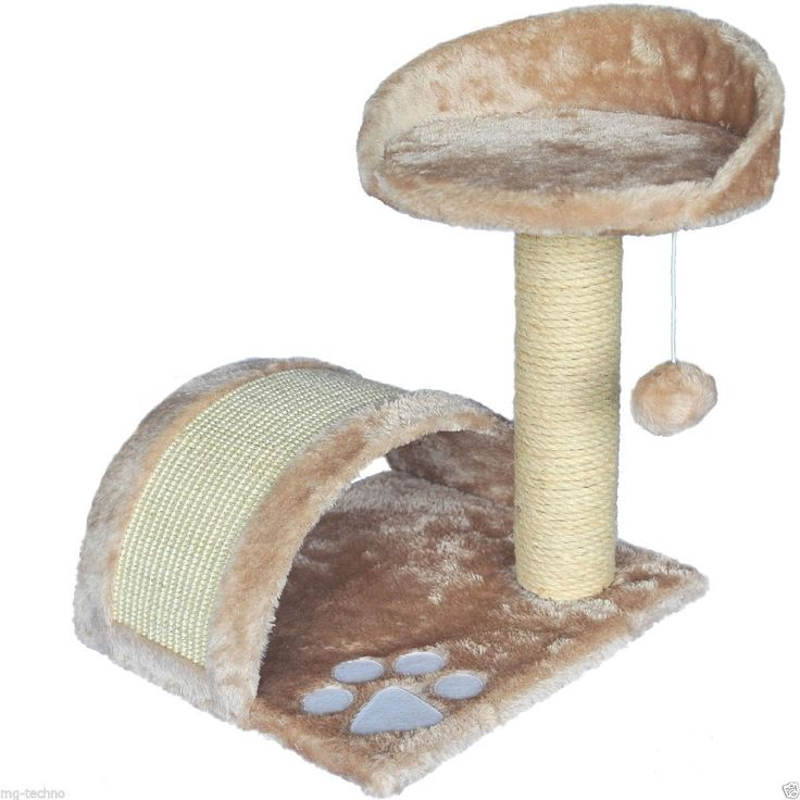 KD102-A Small Sisal Cat Scratching Tree: Amazon.co.uk: Pet Supplies