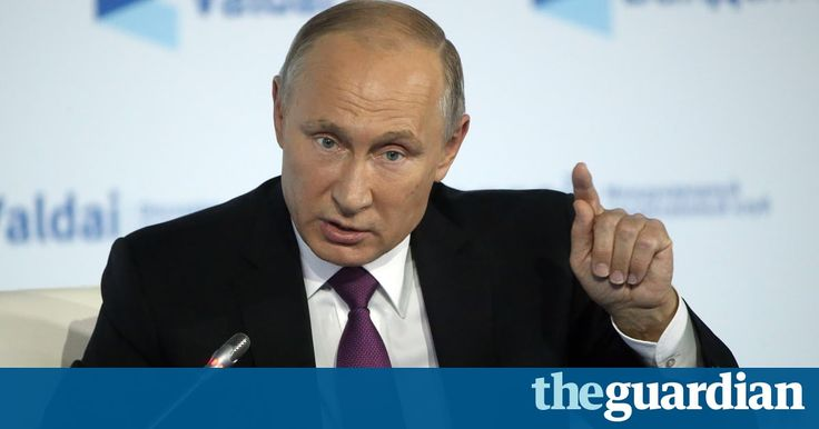 Putin says 'Mr Trump should be respected' by the American ...