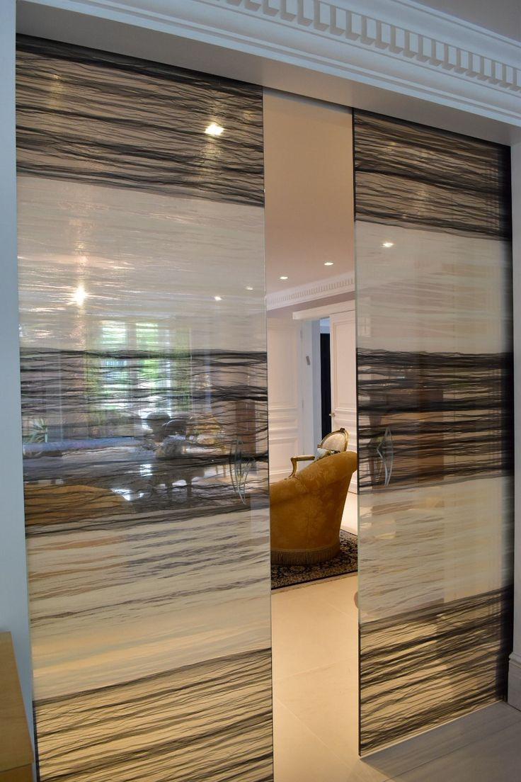 The 63 best images about staklo on pinterest smart glass layered black and white chiffon fabric laminated between glass with led crystal eventelaan Choice Image