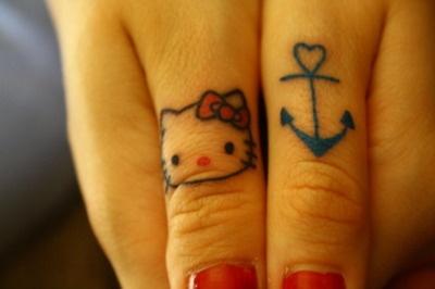 cute thumb tattoos