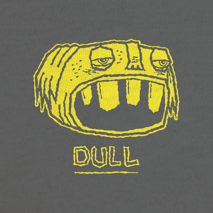 Dull - Follow me on Twitter, Instagram, Etsy, Flickr, Dribbble, Tumblr at rikcat or visit rikcat.com