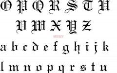 Tattoo Fonts Desktop Wallpaper