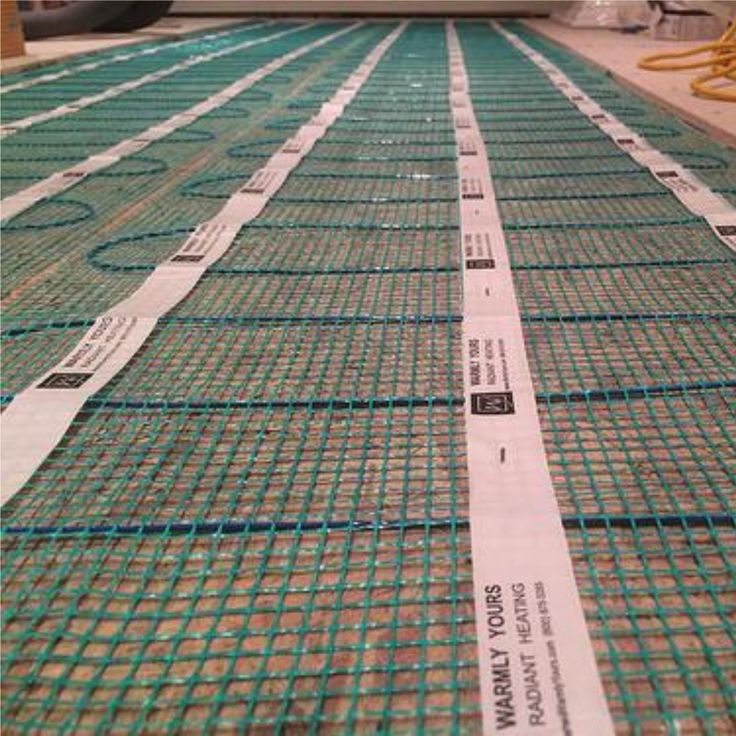 Electric Radiant Floor Heating Operating Cost Calculator