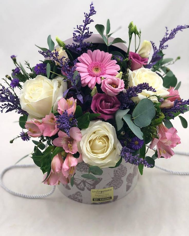 This Hat Box Arrangement was sent out to a lucky lady from