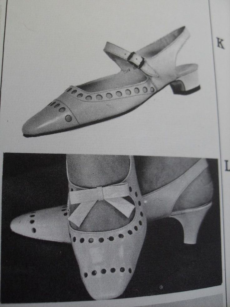 Why can't modern shoes look more like 60s shoes?