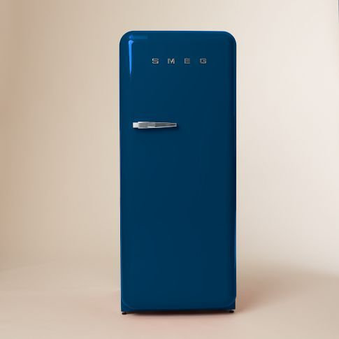 SMEG Refrigerator from west elm Market #colorcrush #indigo