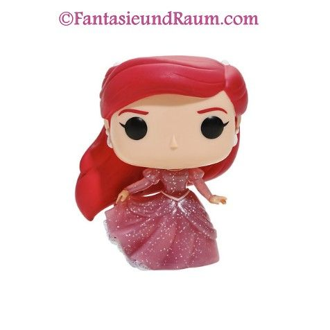 Pop! Disney: Arielle die Meerjungfrau – Ariel (Gown Glitter)(Translucent)  Excl. to Hot Topic   ohne Sticker!