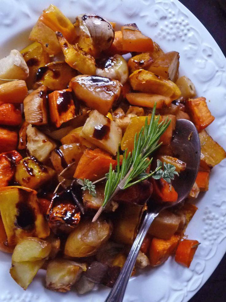 Balsamic Glazed Roasted Root Vegetables - Farberware Cookware
