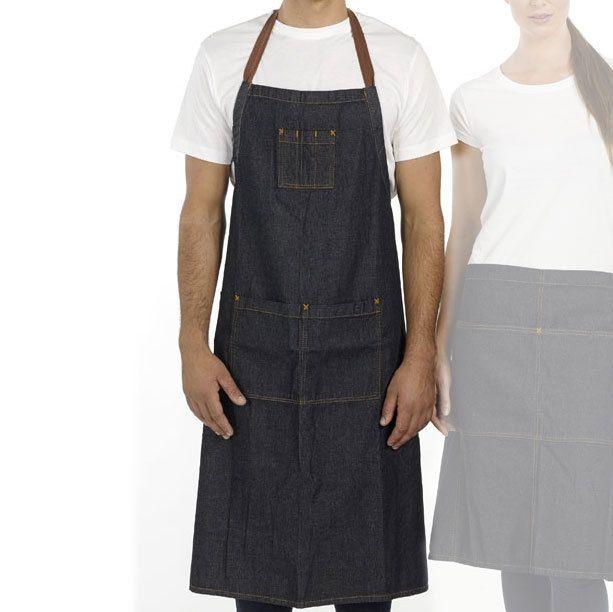 Blank Clothing - STITCH | denim full apron with pocket