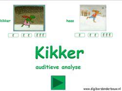 Digibordles: Kikker: auditieve analyse digibordonderbouw.nl