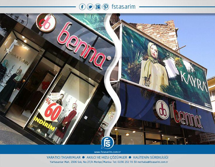 """""""Moda Benna""""  (İzmir - Turgutlu - Manisa) Tabela ve Reklam Kampanyaları için bizi tercih etti.. Teşekkürler... http://www.fstasarim.com.tr"""