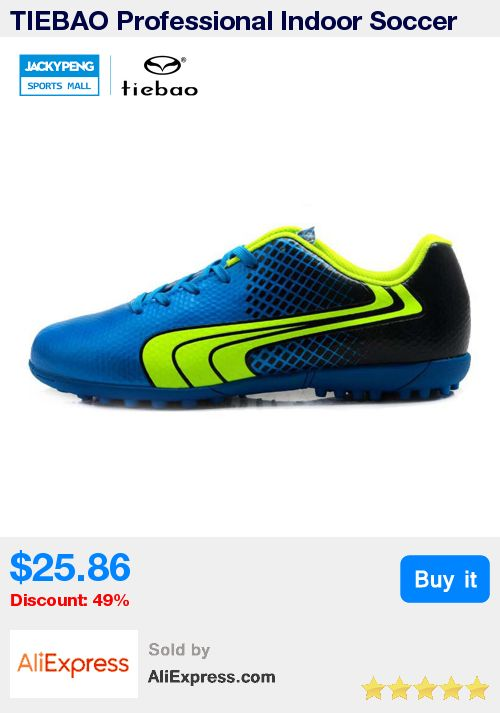 TIEBAO Professional Indoor Soccer Shoes Men Women Rubber Soles Football Boots TF Turf Athletic Training Shoes Crampons De Foot * Pub Date: 16:30 Apr 29 2017