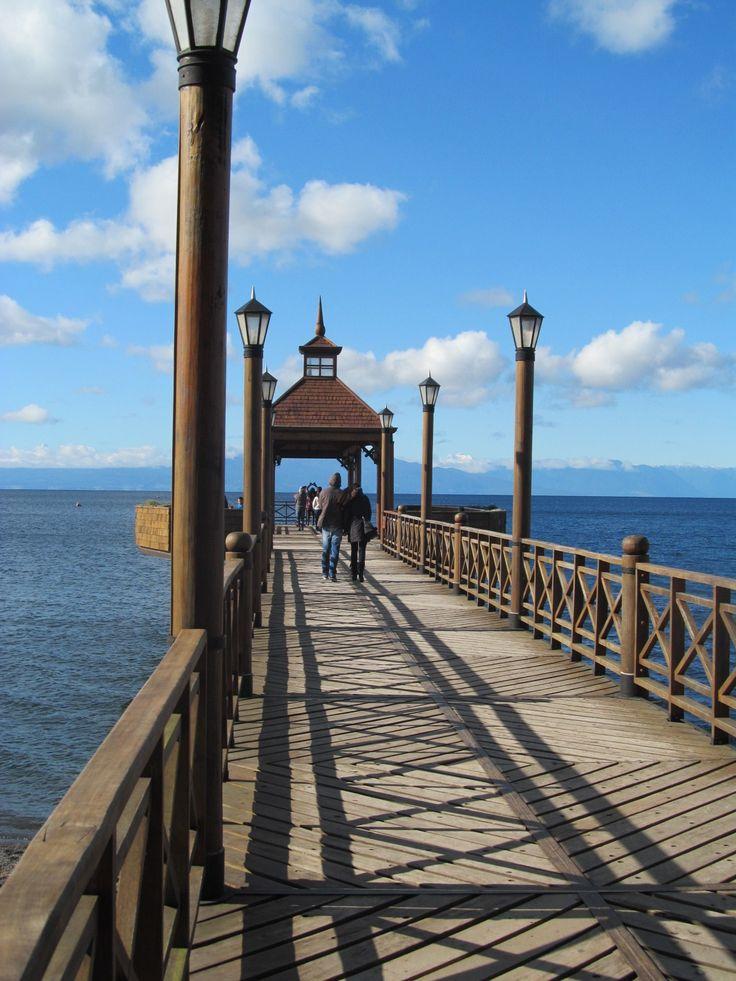 Muelle mirador Volcán Osorno