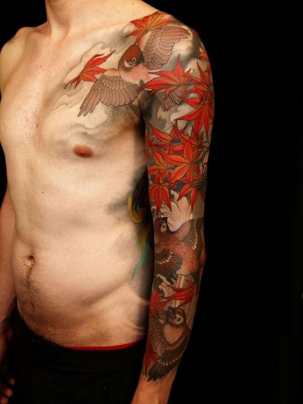 Japanese tattoo http://tattootodesign.com/japan-tattoos/