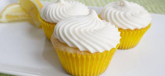 Cupcakes λεμονιού