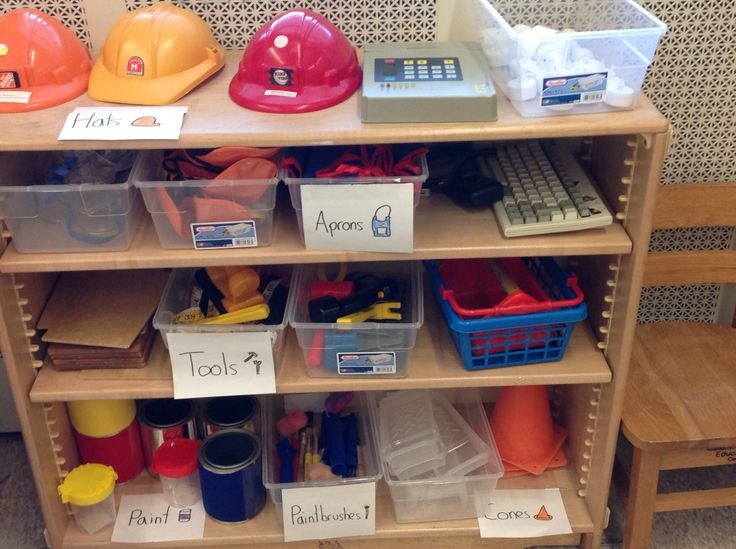 Classroom Improvement Ideas ~ Best dramatic play home improvement store construction