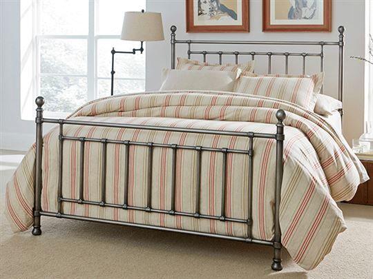 Bennington Gray King Bed Set