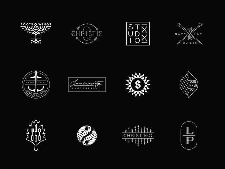 2016 logos and monograms by Stevie Dutson