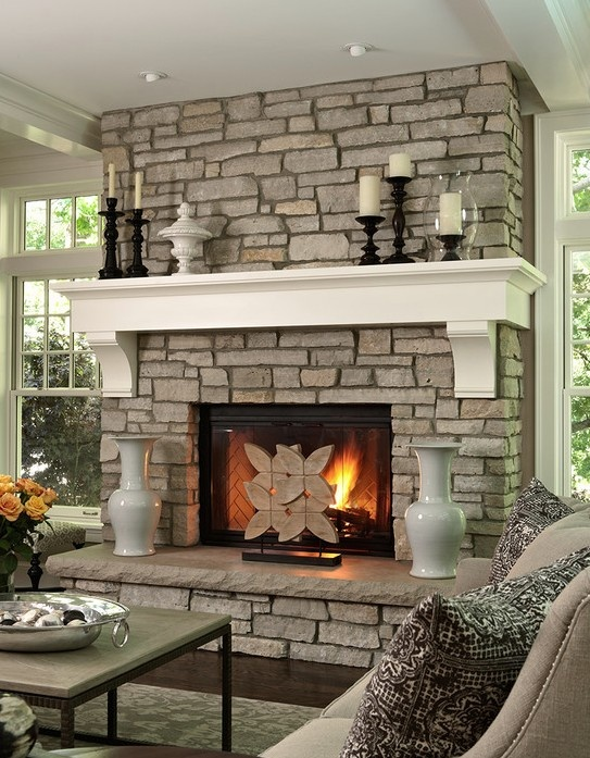 Stone And Brick Fireplace 21 best painted brick fireplace images on pinterest | fireplace