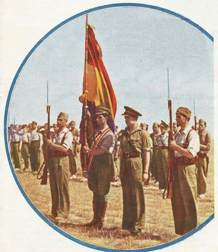 """Spain - 1938. - GC - DETALLE DE LA PORTADA DE """"BALAS ROJAS"""" Revista portavoz de…"""