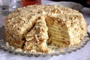 Delicious cake Napoleon