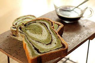 marbré green tea red bean  Aki Boulangerie  16, rue Saint-Anne