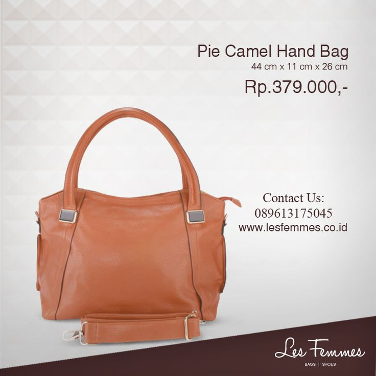 Pie Camel Hand Bag 379,000 IDR #Fashion #Woman #bag shop now on http://www.lesfemmes.co.id/hand-bags/pie-camel-hand-bag