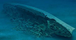 August 27, 1981 - A team of divers recovered a safe from the wreckage of the cruise ship SS Andrea Doria, which sank in the Atlantic Ocean on July 25, 1956. The safe, from the Bank of Rome, was located in a lounge on the ship's foyer, 225 feet below the surface. On August 16, 1984, the safe was opened on live television on Andrea Doria: The Final Chapter, it yielded a few thousand dollars worth of waterlogged American dollars and Italian lire.