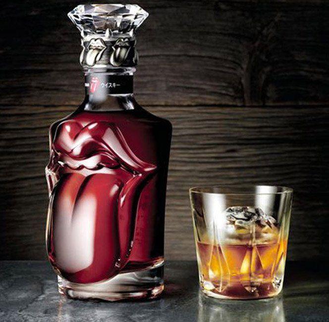 A fabricante de bebidas Suntory criou apenas 150 garrafas do Whisky especial 50 anos de Rolling Stones. Cada garrafa custa 6.300 dólares. A marca também aproveita a data para lançar outros produtos com a marca dos roqueiros como cervejas e runs.