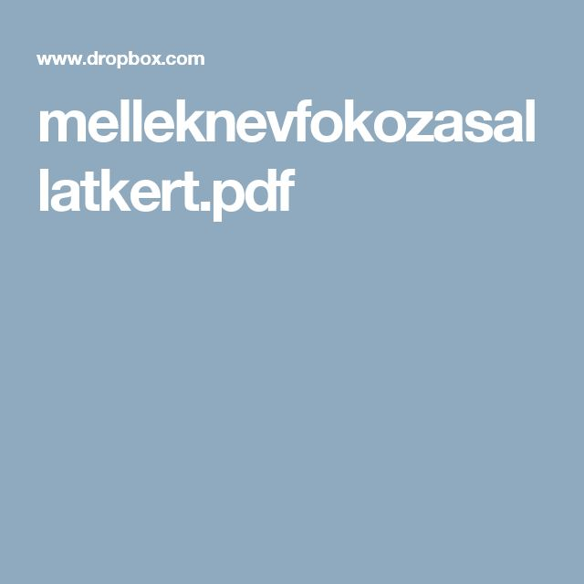 melleknevfokozasallatkert.pdf