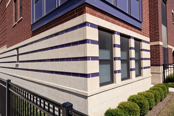 Glazed Brick Accent - Utility Brick. Looks great with other masonry products.