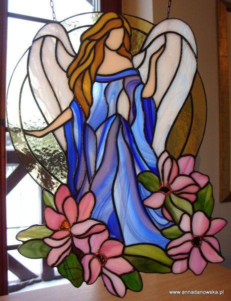 angel y flores