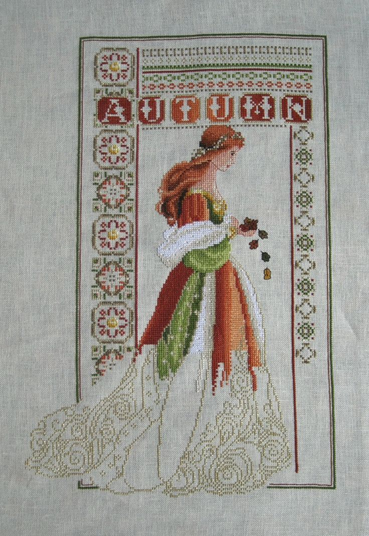 Celtic Autumn by Lavender and Lace using alternative colors and pattern modifications.