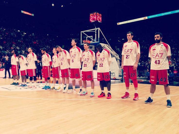 #ea7 #olimpiamilano #basket #ilovethisgame by drakkar983