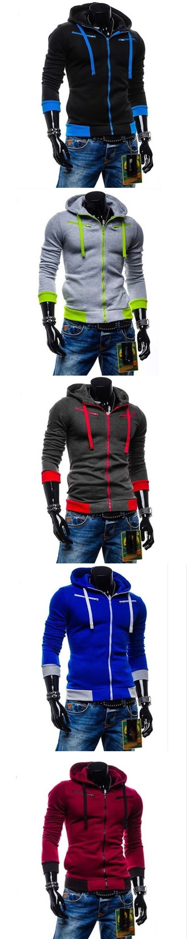 2017 New Mens Hoodies and Sweatshirts Zipper Hooded Sweatshirts Male Clothing Fashion Military Hoody For Men Jacket 4XL