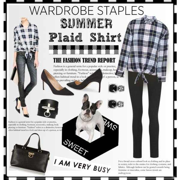 Summer Trend - Your New Plaid Shirt Outfit Idea 2017