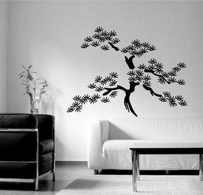 vinilos decorativos categora arboles flores