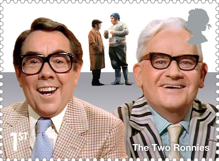 Comedy Greats 1st Stamp (2015) The Two Ronnies