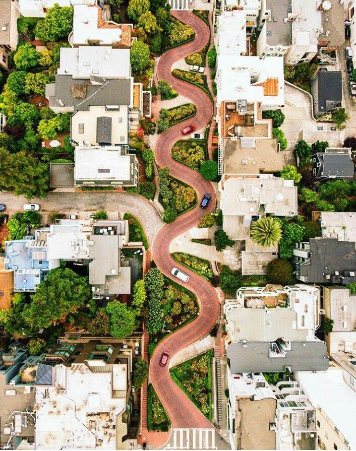 dirka - Lombard Street, San Fransisco