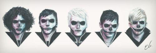 My Chemical Romance - Fanart