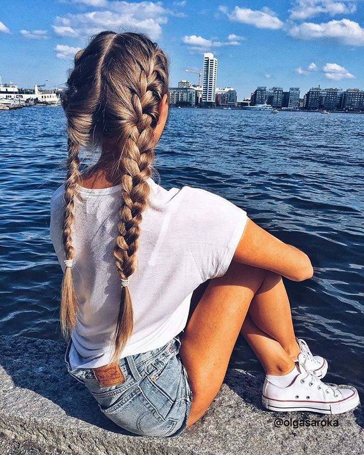 5,779 отметок «Нравится», 67 комментариев — @olgasaroka в Instagram: «Love this place! It makes me feel happy and calm 💦💙#braid #braids»