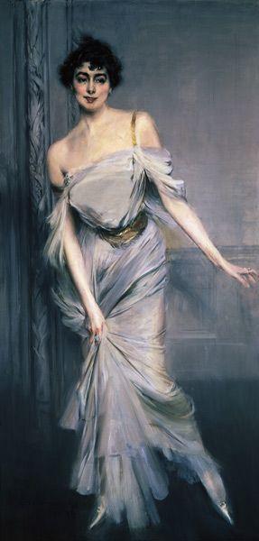 Giovanni Boldini - Madam Charles Max.